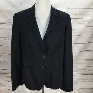 Banana Republic Navy Blue Blazer Size 16 Women's